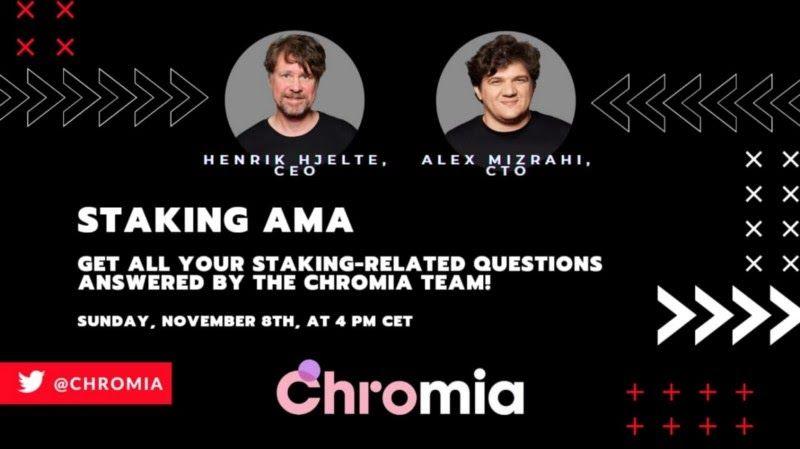 Chromia Staking AMA Recap