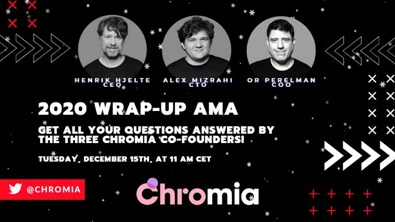 2020 Wrap-Up AMA with the Chromia Co-founders: Recap