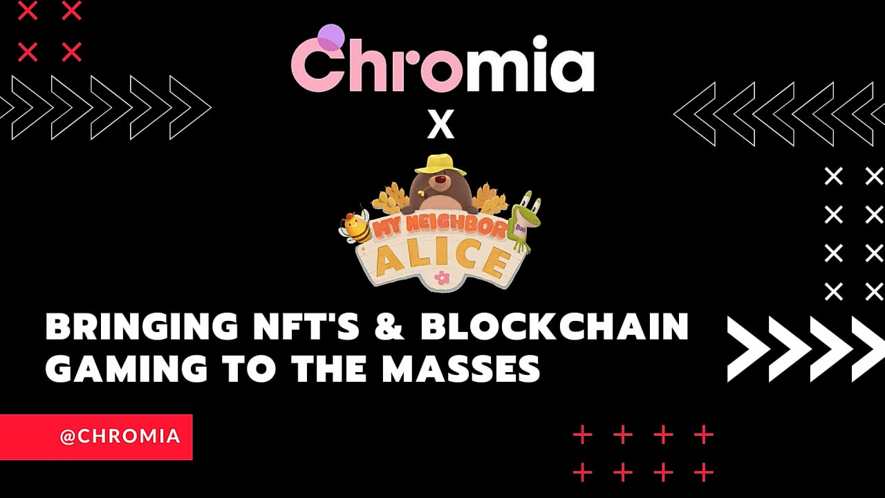 Chromia's Relational Blockchain Brings Powerful NFT Features to My Neighbor Alice