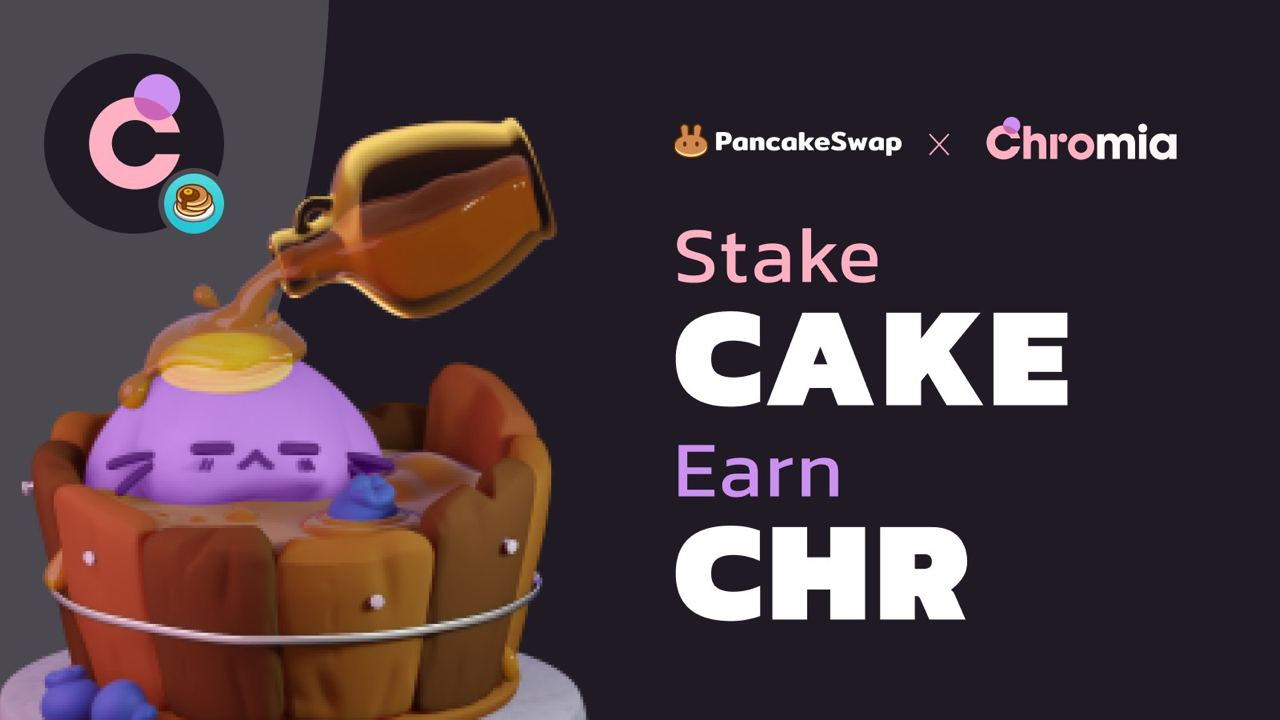 Chromia's CHR token Launches on BSC with a Staking Event on PancakeSwap