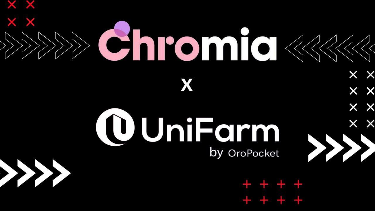 Chromia Included in Latest UniFarm Cohort!