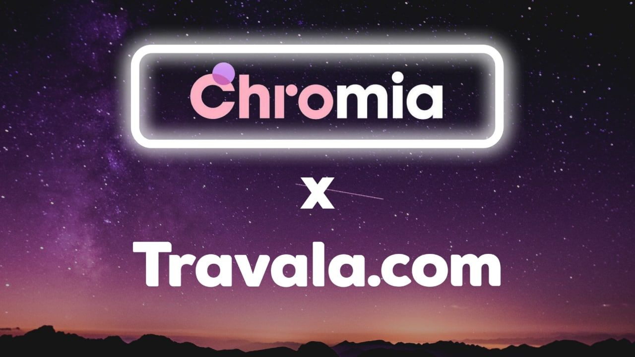 Chromia Partners with Travala.com