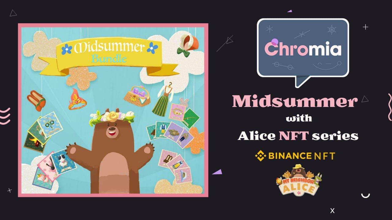 Binance Lists Exclusive My Neighbor Alice Midsummer NFTs