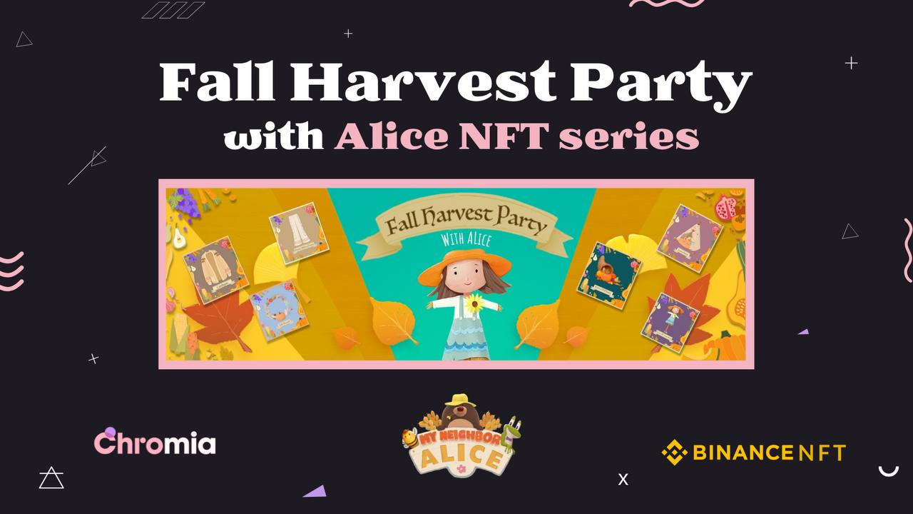 The My Neighbor Alice 'Fall Harvest NFT' Sale Has Concluded