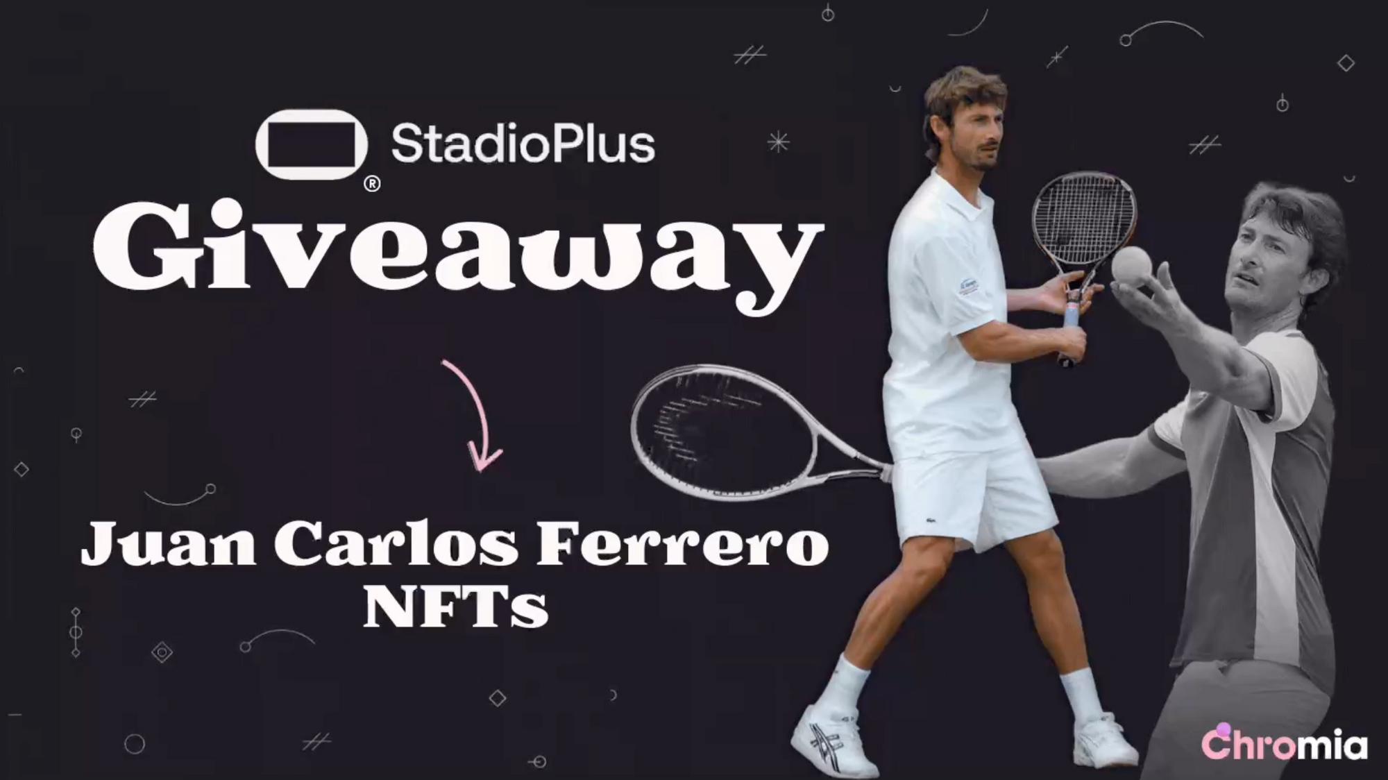 Win Limited Edition Juan Carlos Ferrero NFTs!